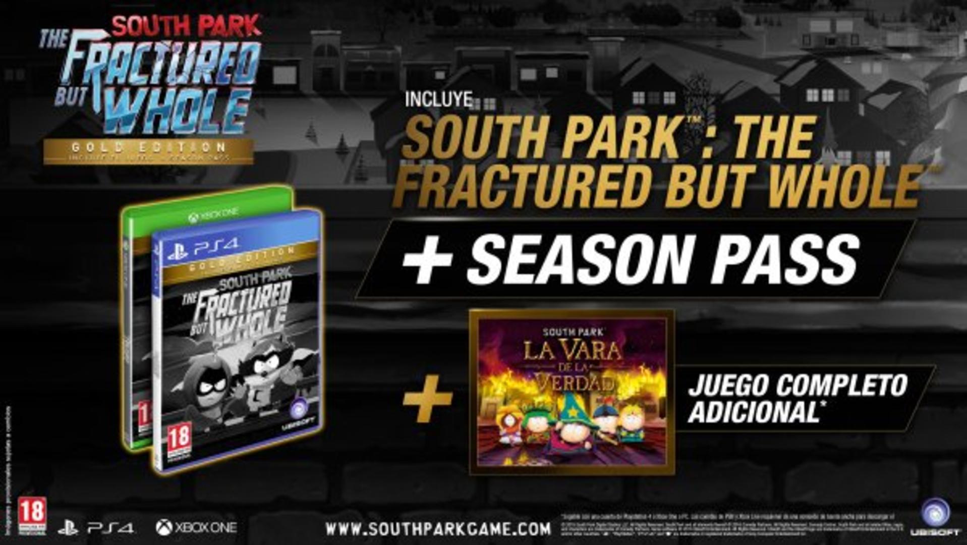 South Park: Retaguardia en peligro Gold Edition + La vara de la Verdad XBOX ONE