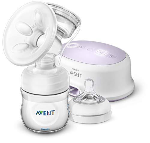 Philips Avent SCF332/31 - Sacaleches, extractor de leche eléctrico silencioso