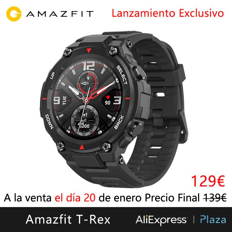 Amazfit T-Rex ya disponible!!! 115€ con cupón