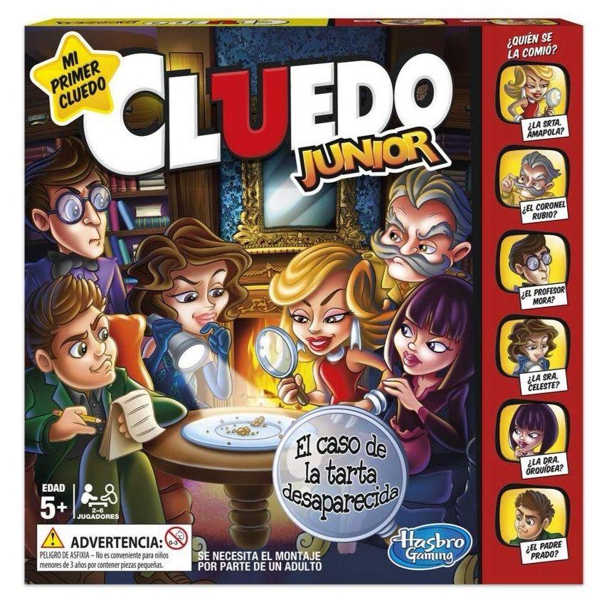 HASBRO Juego Cluedo Junior (Versión Española).( - 4.53€ al tramitar pedido)