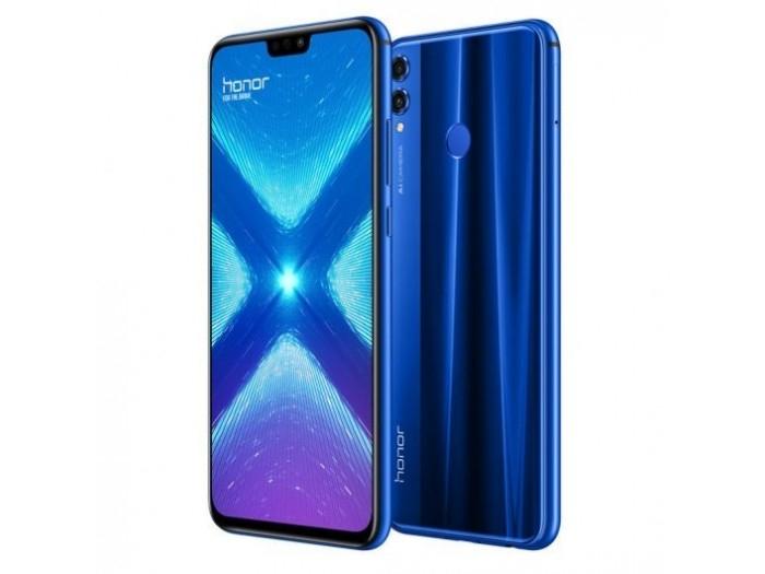 Smartphone Huawei Honor 8X 4/64GB Dual Sim Azul CPO Versión Española