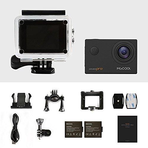 MGCOOL Pro Action Camera Videocámara Deportiva Wifi