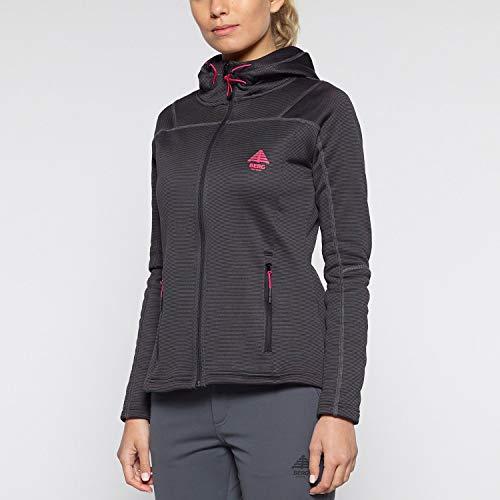 TALLA M - Berg Outdoor Power Stretch Fleece, Chaqueta para Mujer