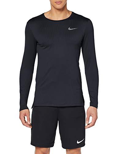TALLA L - Nike M Nk Dry Top LS Slim Long Sleeved, Camiseta para Hombre