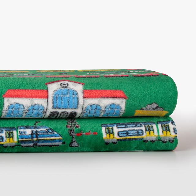 Manta decorativa Trenes Mini Home - El Corte Inglés