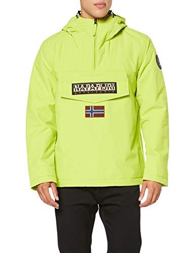 Napapijiri chaqueta para hombre color amarillo talla L