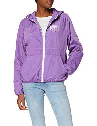 TALLA XL - Tommy Jeans Mujer Garment Dye Hooded Zipthru Chaqueta
