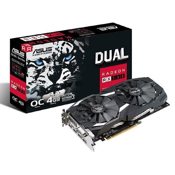 Asus AMD Radeon RX580 Dual 4G