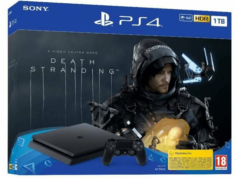PS4 Slim de 1 TB + Death Stranding