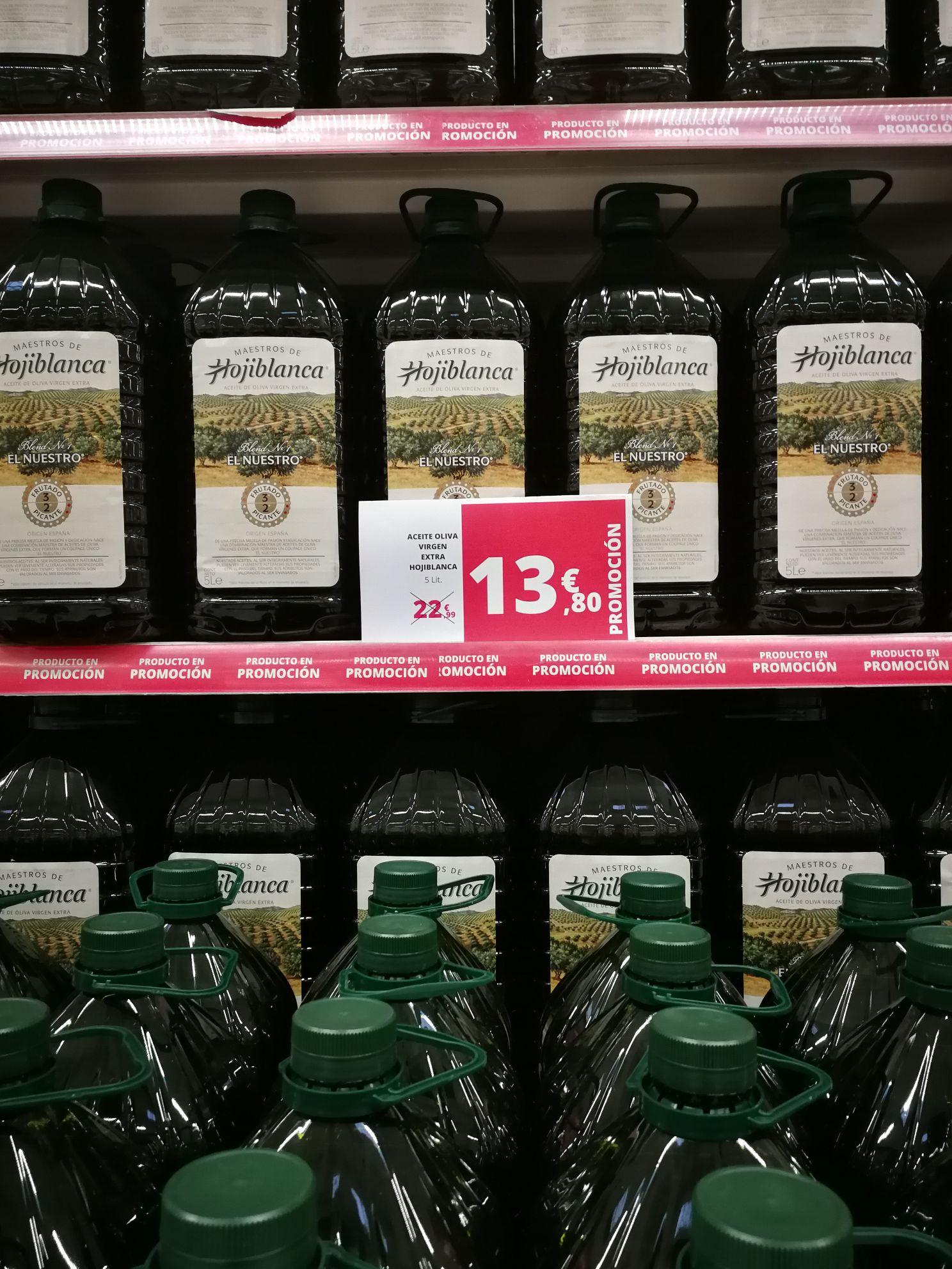 Aceite oliva virgen extra Hojiblanca