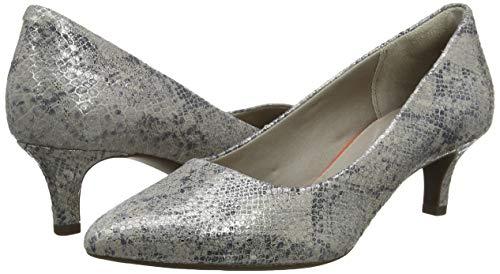 Rockport Total Motion Kaiya Pump, Zapatos de tacón con Punta Cerrada para Mujer