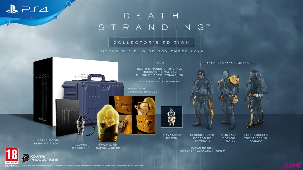 DEATH STRANDING COLLECTOR´S EDITION