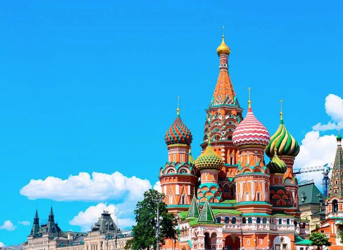 FEB/MAR Vuelos directos a Moscú desde 130€ ida y vuelta