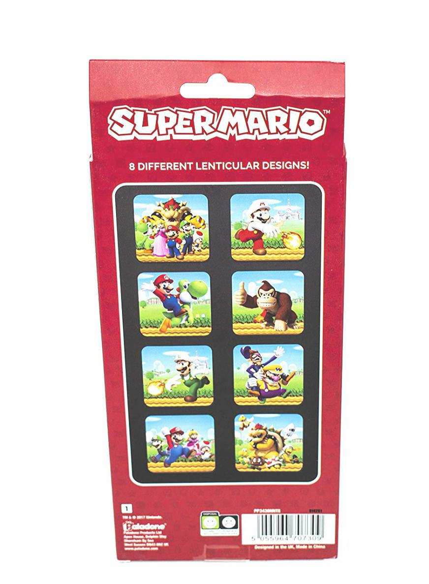 8 posavasos Super Mario con movimiento 3D