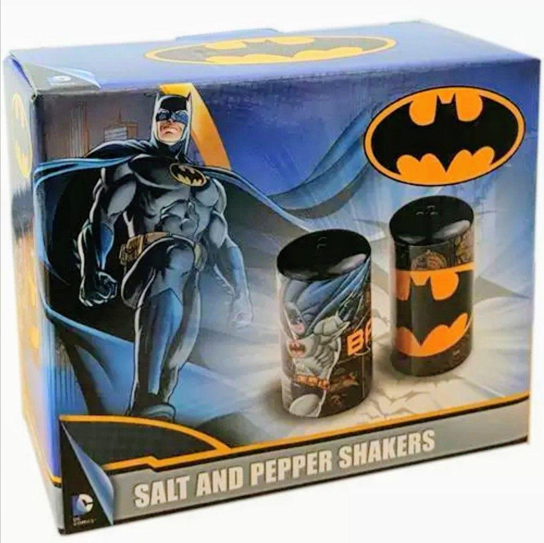 Salero Y Pimentero DC Cómics Batman (2 Modelos).