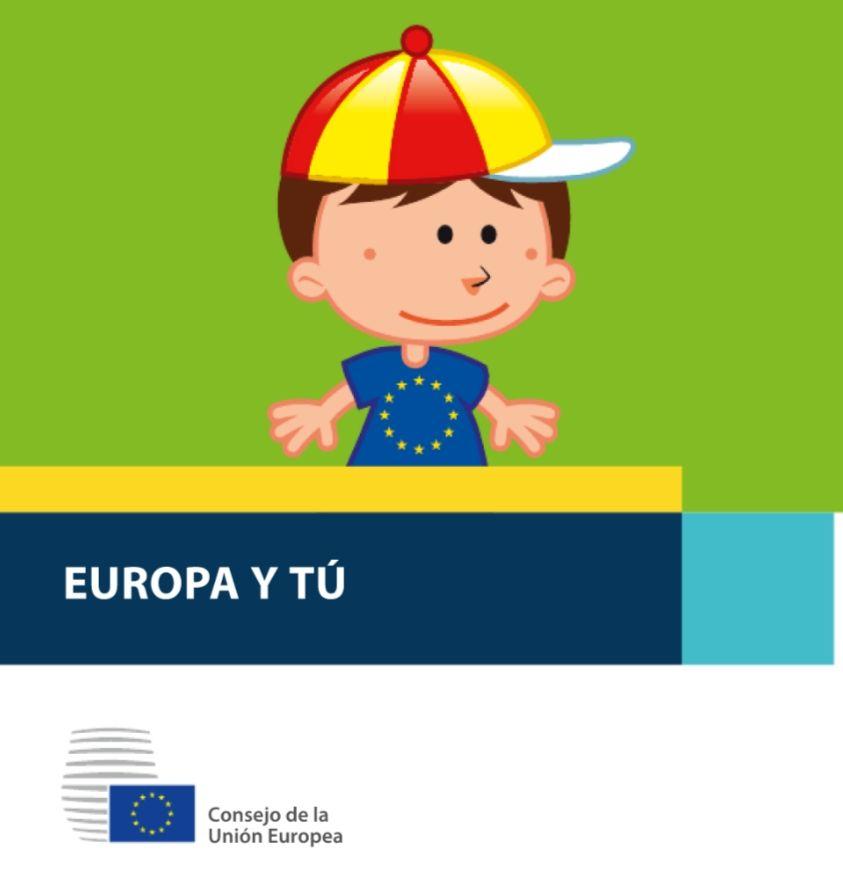 """Libro físico para niños """"Europa y tú"""" gratis"""
