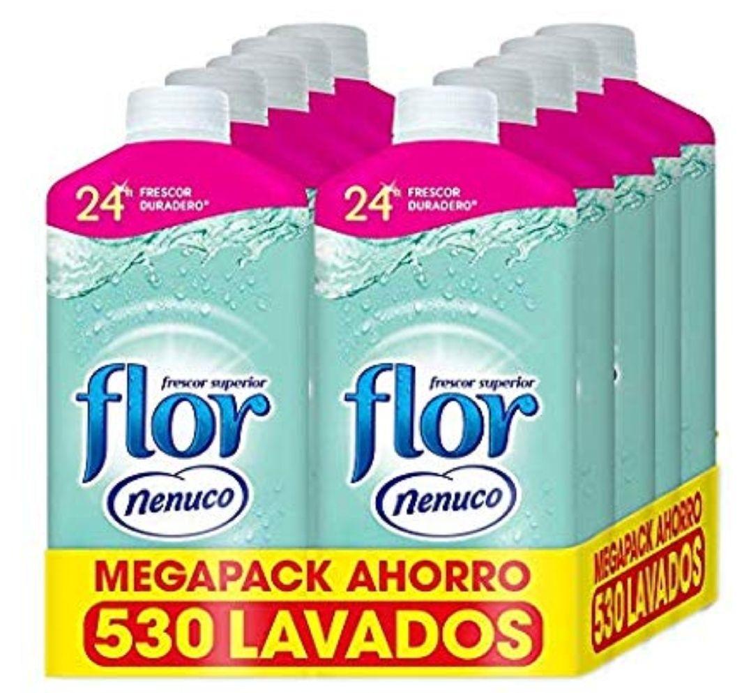 Flor Suavizante Ropa Concentrado Hipoalergénico Fragancia Nenuco, 500 lavados