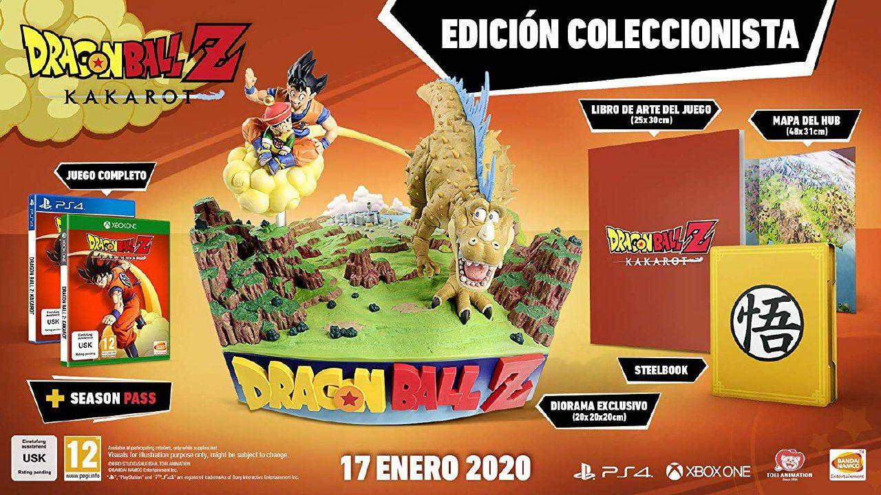 Dragon ball Kakarot Z Coleccionista (PS4)