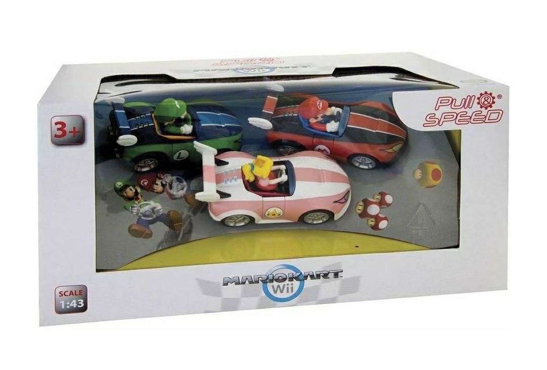 Pull and Speed Mario Kart