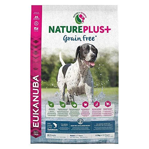 Pienso para perros EUKANUBA NaturePlus+. Todas las razas Con salmón fresco congelado [10 kg]