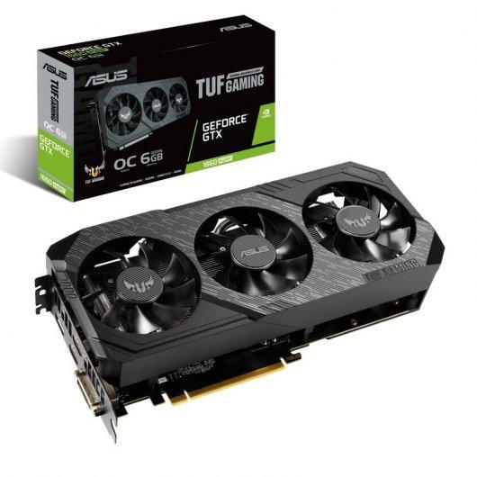 Asus TUF 3 GeForce GTX 1660 SUPER OC 6GB GDDR6 (Leer Descripción)