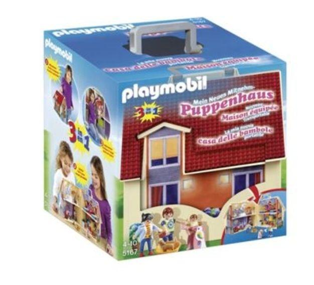 Playmobil: Casa de Muñecas Maletín, Construcción (Socio 19,40€)