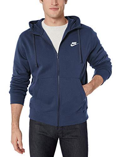 Nike M NSW Club Hoodie FZ BB Sweatshirt, Hombre