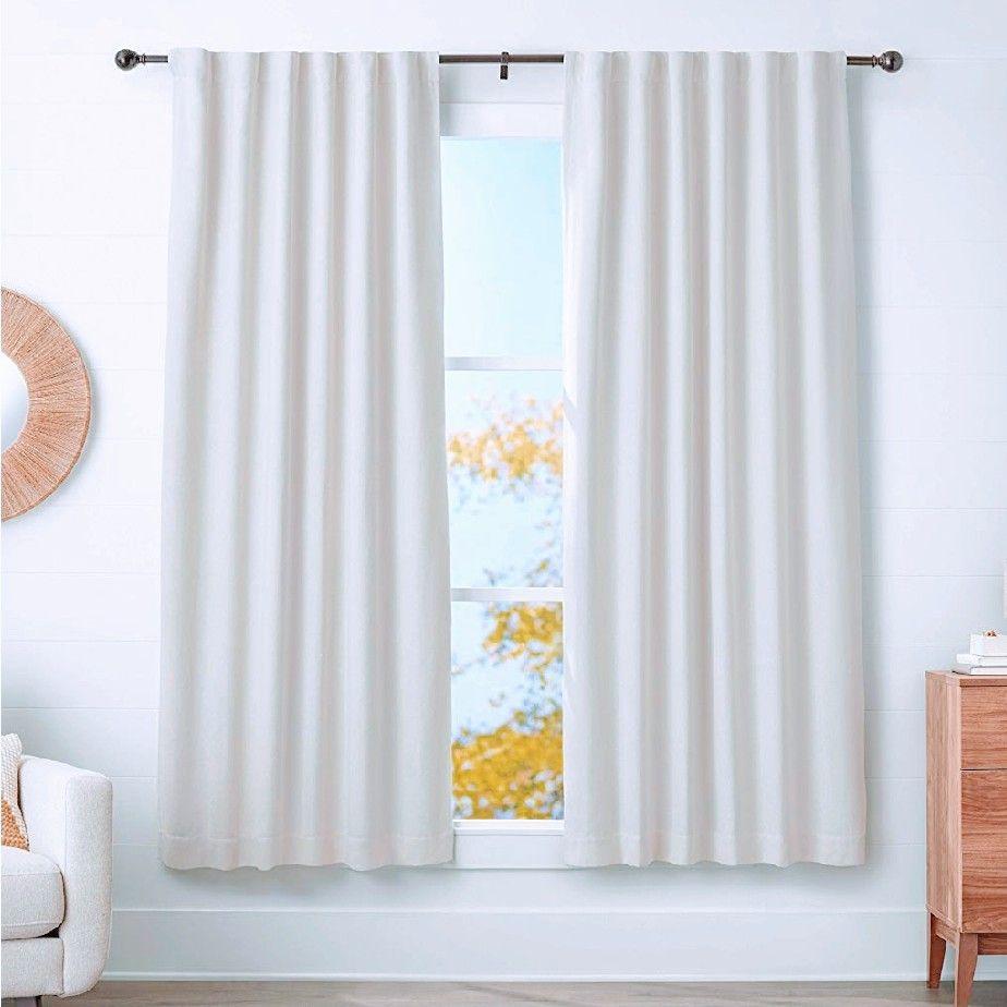Barra para cortinas 182-365 cm. Bronce.