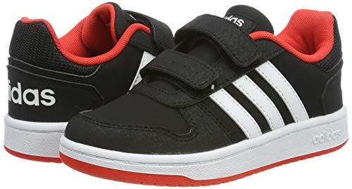 TALLA 33.5 - adidas Hoops 2.0 CMF C, Zapatillas Unisex Niños