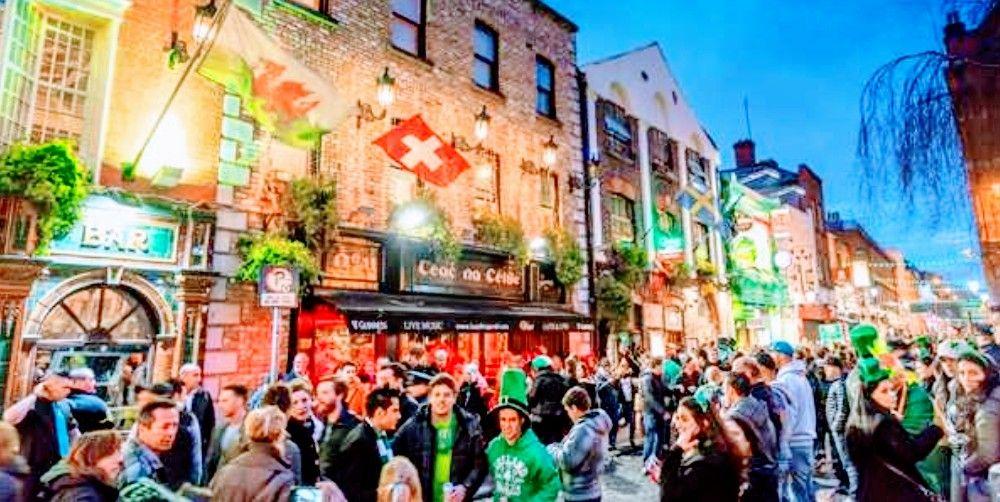 Rebajas para volar a Dublín i/v desde 70€ válida entre los días 11 y 21 marzo( incluído el día de San Patricio)