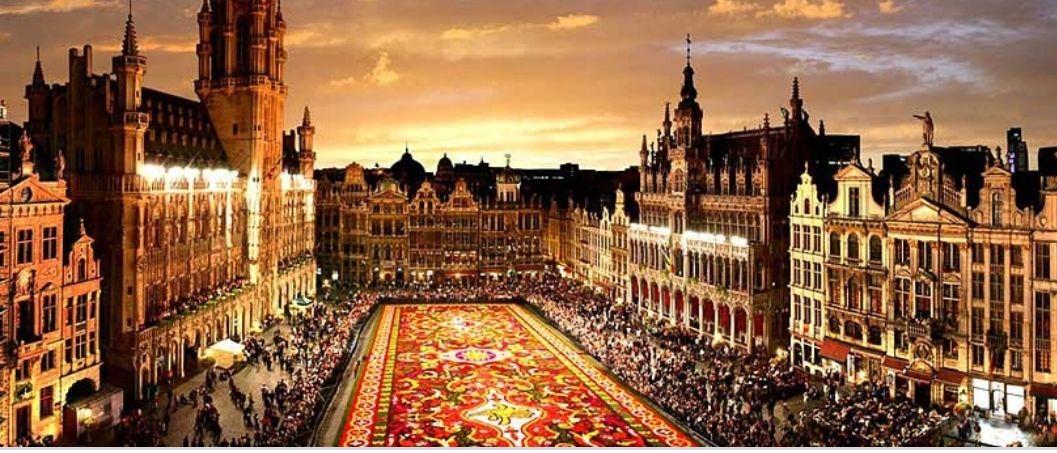 Vuelo ida y vuelta Bruselas desde Santander (varias webs)