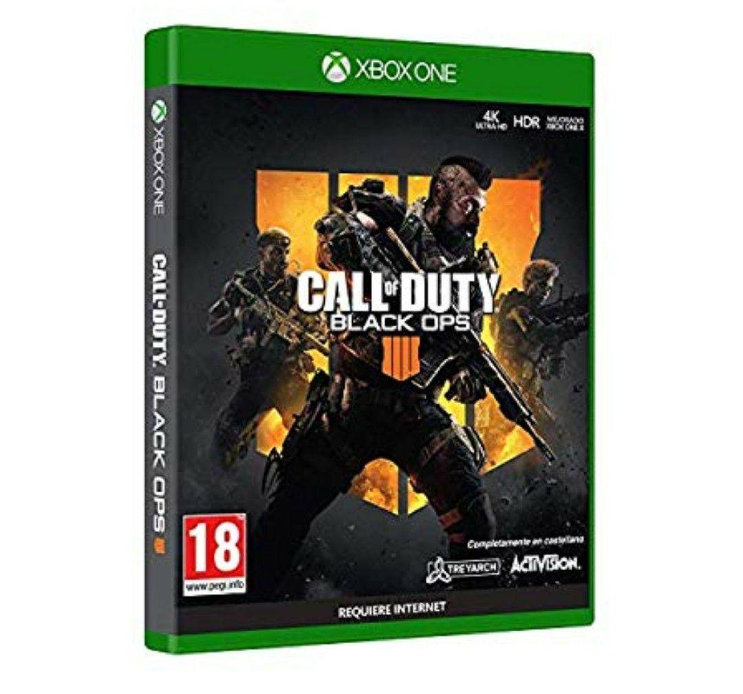 Call of Duty Black OPS 4 + tarjeta de visita exclusiva