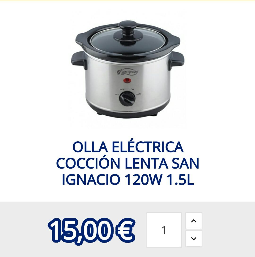 OLLA COCCIÓN LENTA SAN IGNACIO