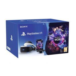 Sony PlayStation VR V2 + PlayStation Camera + PlayStation VR Worlds