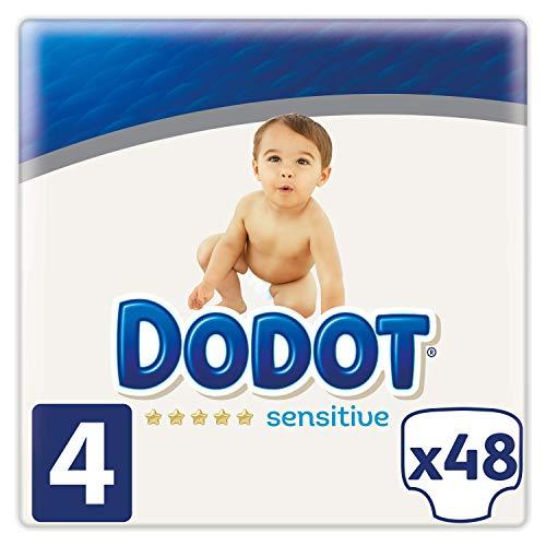 Dodot Sensitive Talla 4 (48 pañales) compra recurrente 11,9€