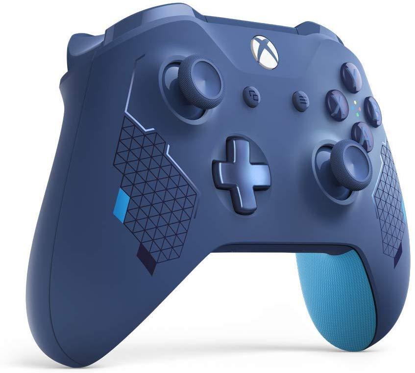 """Mando Xbox One Sport Blue [Edición Especial] Reaco """"muy bueno"""" y """"como nuevo"""" Amazon"""
