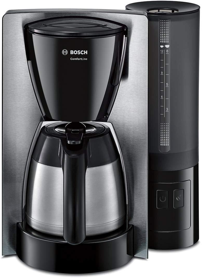 """Cafetera Bosch 1200 W-acero inox Reaco """"muy bueno"""" y """"como nuevo"""""""