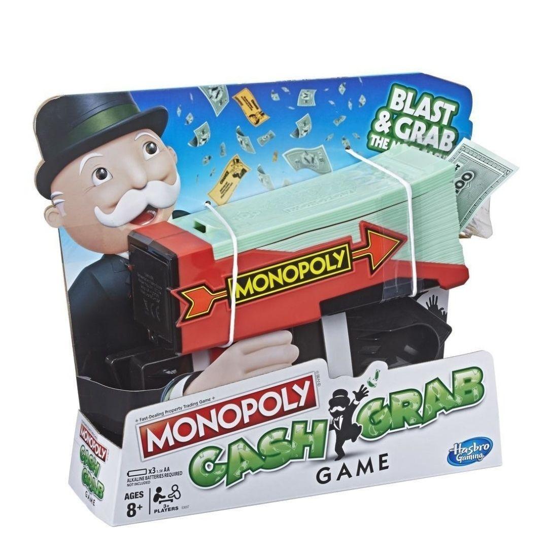 Hasbro Monopoly Cash Grab Game Estuche de Juego - Juegos y Juguetes de Habilidad/Activos