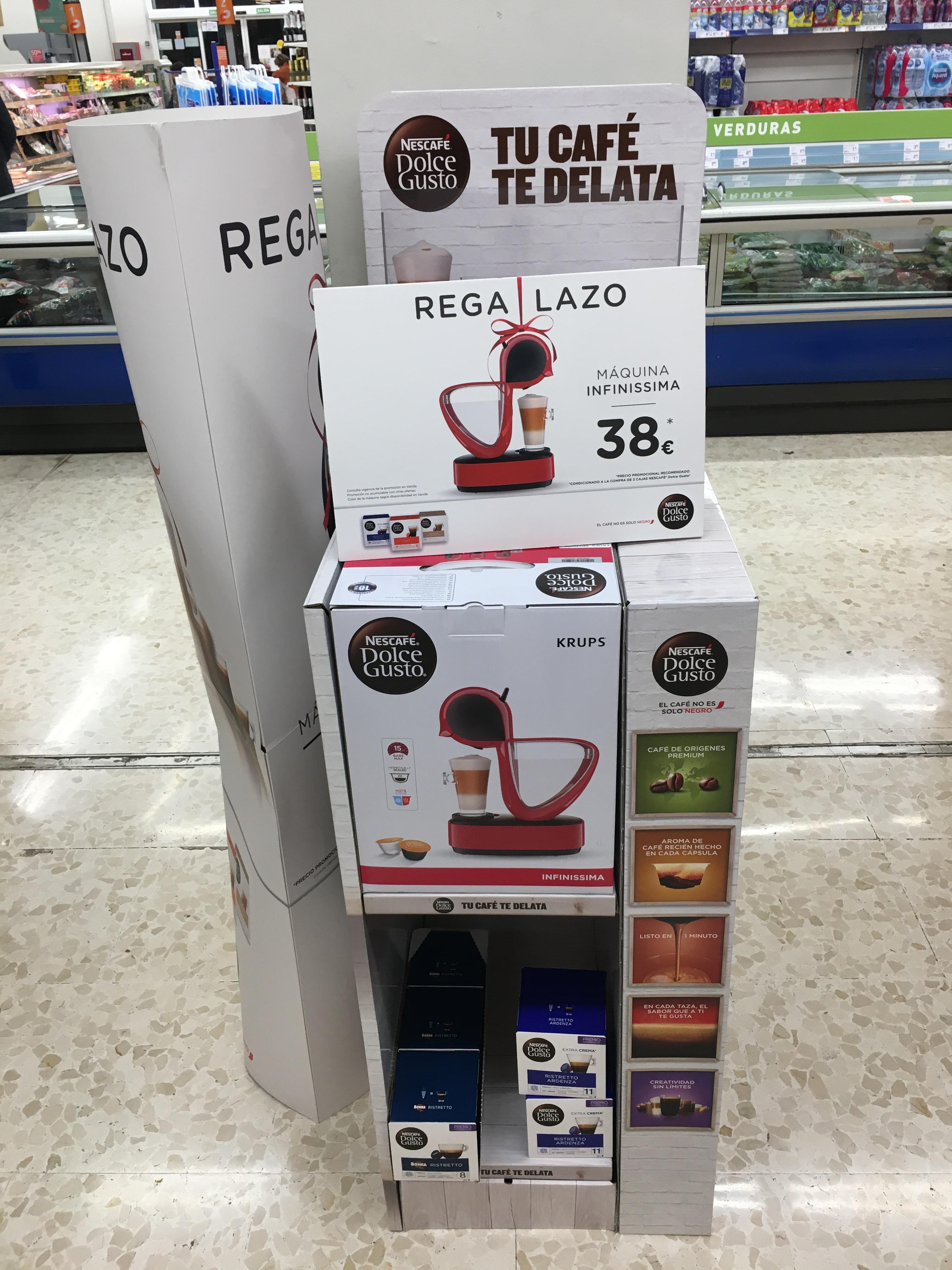 Consum Murcia: Cafetera Infinissima De´Longhi