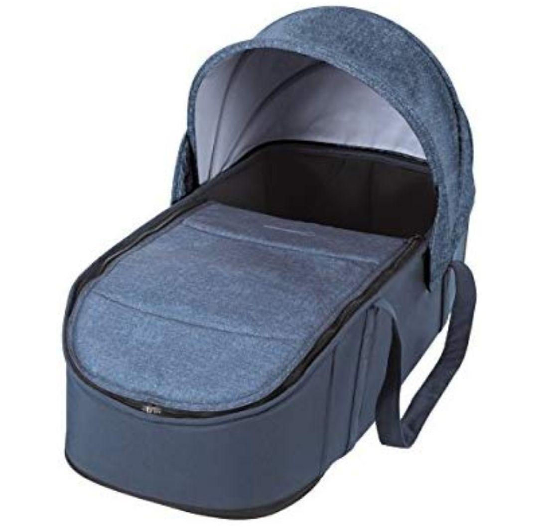 Bébé Confort CAPAZO BLANDO LAIKA 'Nomad Blue'- Capazo Blando, exclusivo para cochecito Laika, color azul