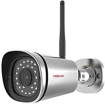 Cámara IP de vigilancia para exterior, función P2P, 2 MP, 1080p, WiFi (Foscam FI9900P)