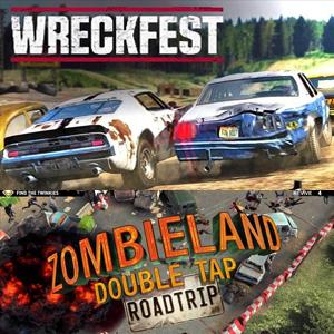 Juega gratis Xbox: Wreckfest y Zombieland: Double Tap Road Trip