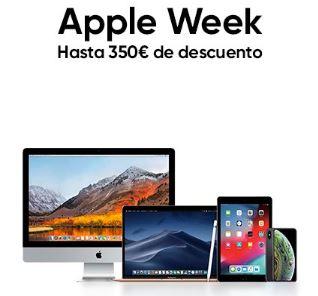 Hasta 350€ de descuento en Apple