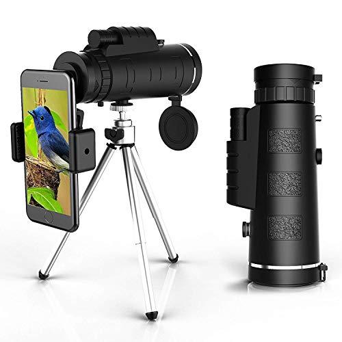 Telescopio con acople para móvil