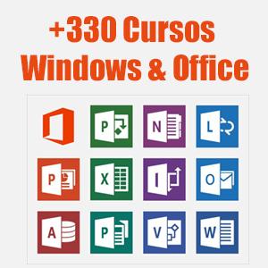 +330 Cursos de Microsoft (Office, Microsoft, Web)