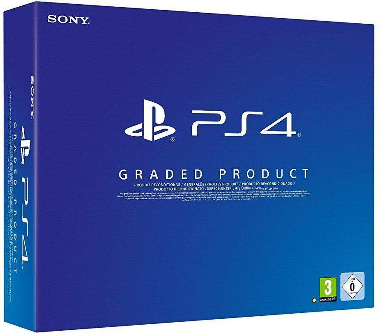 PlayStation 4, 500 GB (Chasis B), Mando Inalámbrico DualShock - [Reacondicionado]