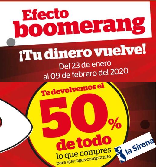 50% que vuelve en la Sirena!!