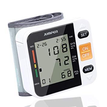 Jumper Monitor Automático de la Presión arterial de Muñeca