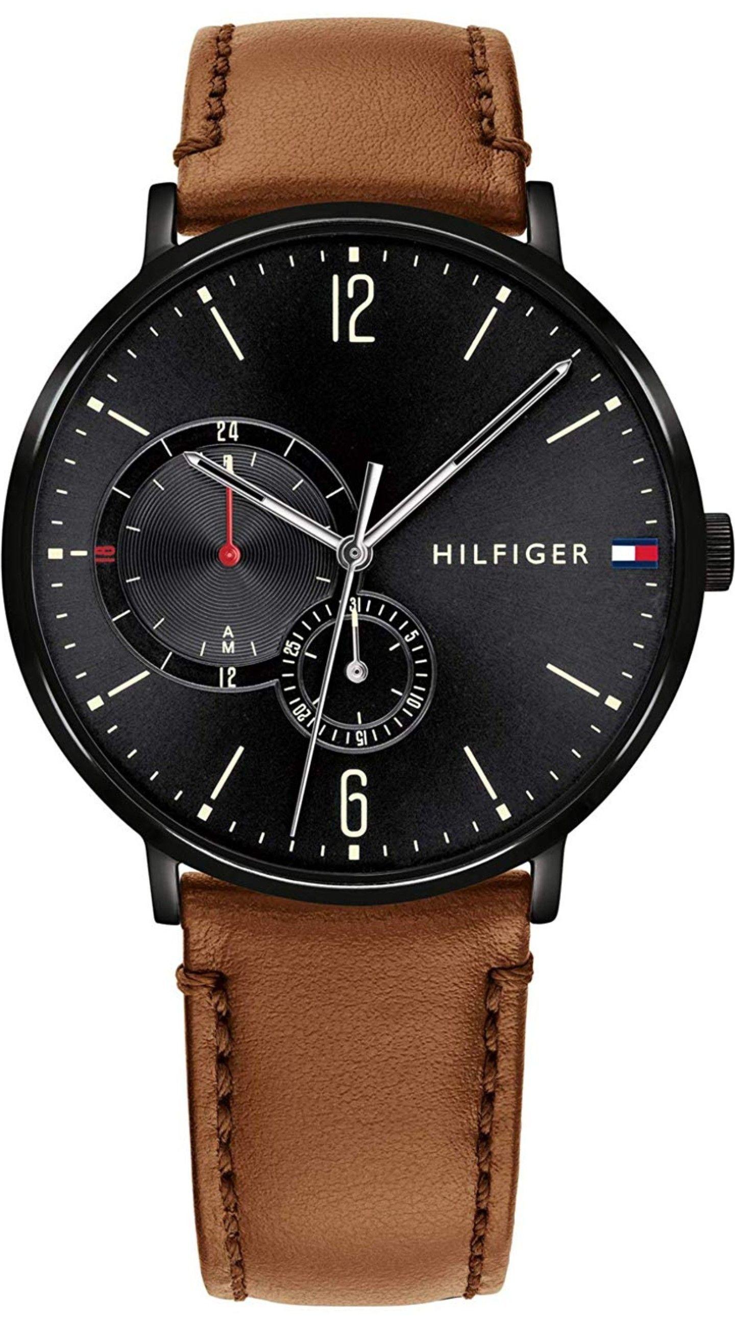 Reloj Tommy Hilfiger con correa en cuero