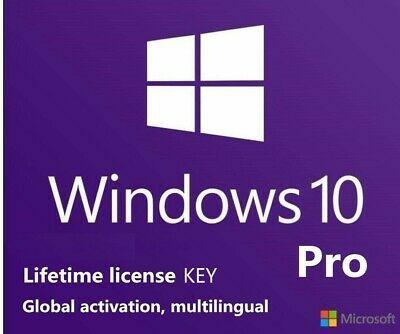 Windows 10 Pro 32/64 BITS (Entrega Instantánea)